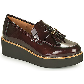 Sapatos Mulher Mocassins Fericelli JOLLEGNO Bordô