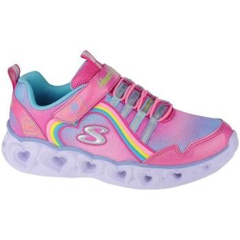 Sapatos Rapariga Fitness / Training  Skechers Heart Lights Rainbow Lux Cor-de-rosa