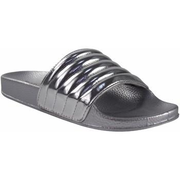 Sapatos Mulher Chinelos Kelara Senhora da praia  k12020 prata Prata