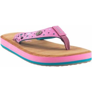 Sapatos Rapariga Chinelos Joma Beach girl  arrecife 2113 pink Rosa