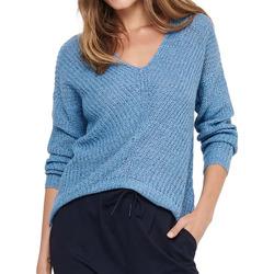 Textil Mulher camisolas Jacqueline De Yong  Azul