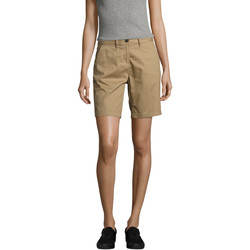 Textil Mulher Shorts / Bermudas Sols Jasper women shorts bermudas Beige