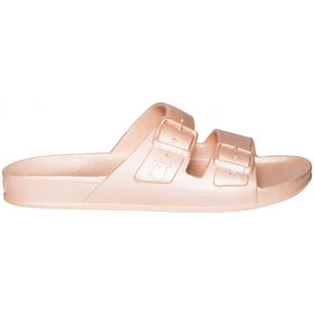 Sapatos Mulher Chinelos Cacatoès Baleia Rosa