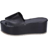 Sapatos Mulher Chinelos Moma BH287 Preto