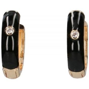 Relógios & jóias Mulher Brincos Luna Collection 57413 preto