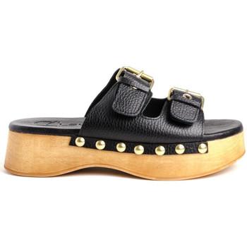 Sapatos Mulher Chinelos Claudia WODD Castanho