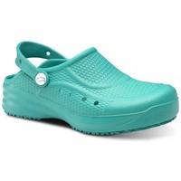 Sapatos Homem Tamancos Feliz Caminar Zueco Laboral Flotantes Evolution - Verde