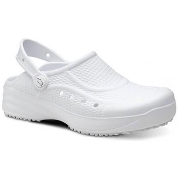 Sapatos Homem Tamancos Feliz Caminar Zueco Laboral Flotantes Evolution - Branco
