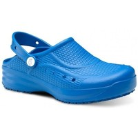 Sapatos Homem Tamancos Feliz Caminar Zueco Laboral Flotantes Evolution - Azul