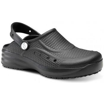 Sapatos Homem Tamancos Feliz Caminar Zueco Laboral Flotantes Evolution - Preto