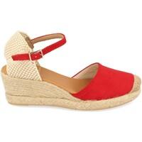 Sapatos Mulher Alpargatas Shoes&blues SB-22001 Rojo