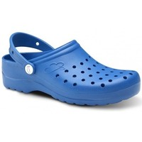 Sapatos Homem Tamancos Feliz Caminar Zuecos Sanitarios Flotantes Gruyere - Azul