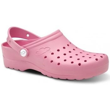 Sapatos Homem Tamancos Feliz Caminar Zuecos Sanitarios Flotantes Gruyere - Rosa
