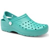 Sapatos Homem Tamancos Feliz Caminar Zuecos Sanitarios Flotantes Gruyere - Verde