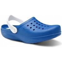 Sapatos Homem Tamancos Feliz Caminar Zuecos Sanitarios Kinetic - Azul