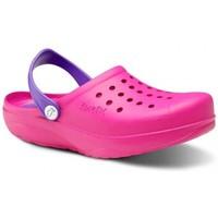 Sapatos Homem Tamancos Feliz Caminar Zuecos Sanitarios Kinetic - Rosa