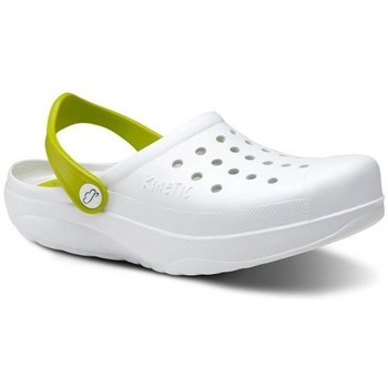 Sapatos Homem Tamancos Feliz Caminar Zuecos Sanitarios Kinetic - Branco