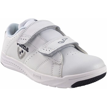 Sapatos Rapaz Sapatilhas Joma Deporte niño  play 2122 bl.azu Branco