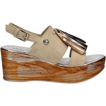Sapatos Mulher Sandálias Byblos Blu 672213 Bege