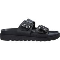 Sapatos Mulher Chinelos Apepazza S1SOFTWLK03/LEA Preto