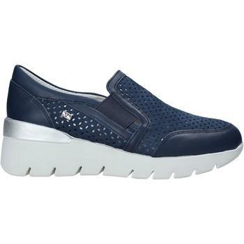 Sapatos Mulher Slip on Valleverde 18253 Azul