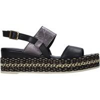 Sapatos Mulher Sandálias Bueno Shoes 21WS5200 Preto
