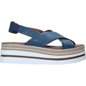 Sapatos Mulher Sandálias Bueno Shoes 21WS5702 Azul