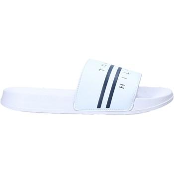 Sapatos Criança Chinelos Tommy Hilfiger T3B0-31123-1174100- Branco