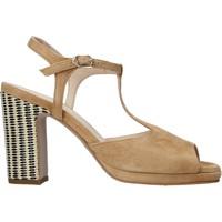 Sapatos Mulher Sandálias Carmens Padova 45085 Castanho