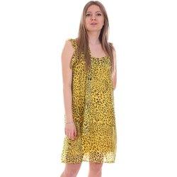 Textil Mulher Vestidos curtos Gaudi 111FD15051 Amarelo