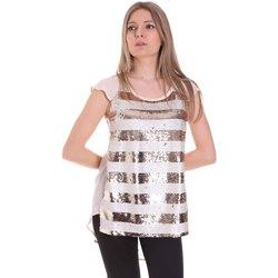 Textil Mulher Tops / Blusas Gaudi 111BD45033 Rosa
