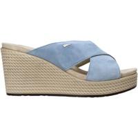 Sapatos Mulher Chinelos IgI&CO 7169055 Azul