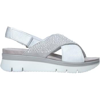 Sapatos Mulher Sandálias Enval 7283511 Cinzento