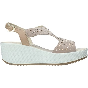 Sapatos Mulher Sandálias Enval 7280122 Bege