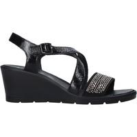 Sapatos Mulher Sandálias Enval 7279100 Preto