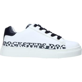 Sapatos Criança Sapatilhas Docksteps GLORY1 Branco