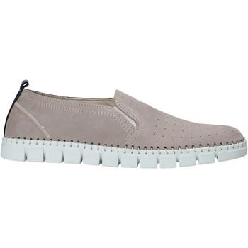 Sapatos Homem Slip on Rogers 2571-NOB Cinzento