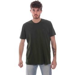 Textil Homem T-Shirt mangas curtas Key Up 2M915 0001 Verde