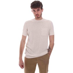 Textil Homem T-Shirt mangas curtas Antony Morato MMSW01179 YA500068 Bege