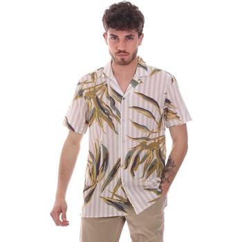 Textil Homem Camisas mangas curtas Sseinse CE661SS Bege