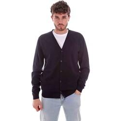 Textil Homem Casacos de malha Sseinse ME1831SS Azul