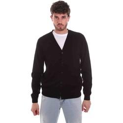 Textil Homem Casacos de malha Sseinse ME1831SS Preto