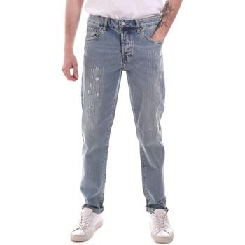 Textil Homem Calças Jeans Sseinse PJE764SS Azul