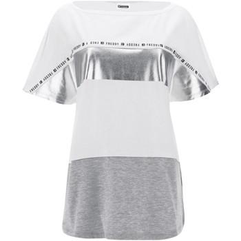 Textil Mulher T-Shirt mangas curtas Freddy S1WSDT2M Branco