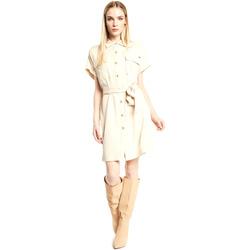Textil Mulher Vestidos curtos Gaudi 111FD15011 Bege