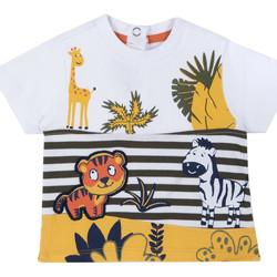 Textil Criança T-Shirt mangas curtas Chicco 09067093000000 Branco