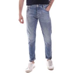 Textil Homem Calças de ganga slim Gaudi 111GU26044 Azul