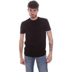Textil Homem T-Shirt mangas curtas Antony Morato MMKS01855 FA120022 Preto