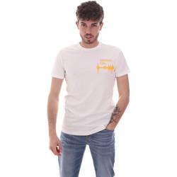 Textil Homem T-Shirt mangas curtas Antony Morato MMKS02002 FA120001 Branco