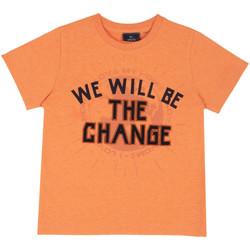 Textil Criança T-Shirt mangas curtas Chicco 09067318000000 Laranja